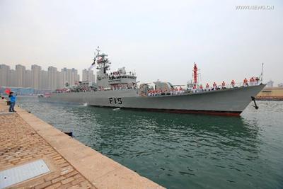 Primer buque de guerra extranjero llega a China para ejercicio militar conjunto