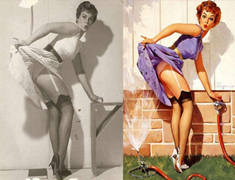 Las mujeres reales detrás las Pin-up de los 50