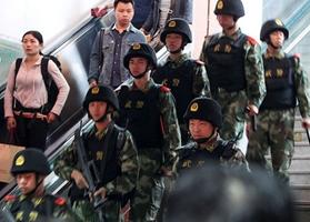 La seguridad se redobla por toda China