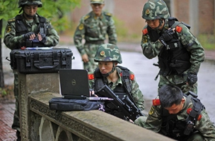 Policía de la capital china ejecute nuevo ensayo contra ataque terrorista