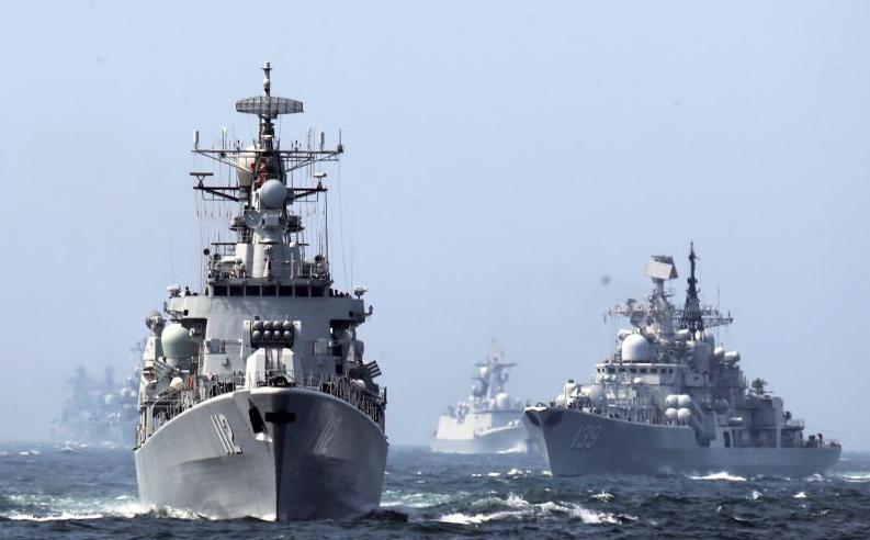 Resultado de imagen de China y Rusia concluyen ejercicio naval conjunto