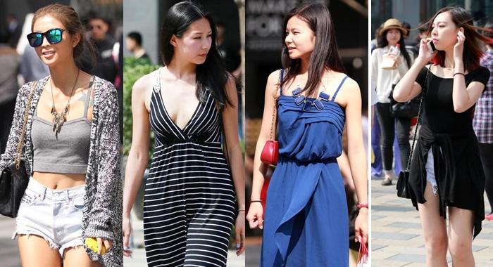 Beijing se quita la ropa para celebrar la llegada del verano