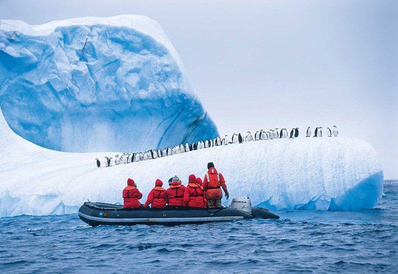 China sube al tercer lugar en turismo al Polo Sur