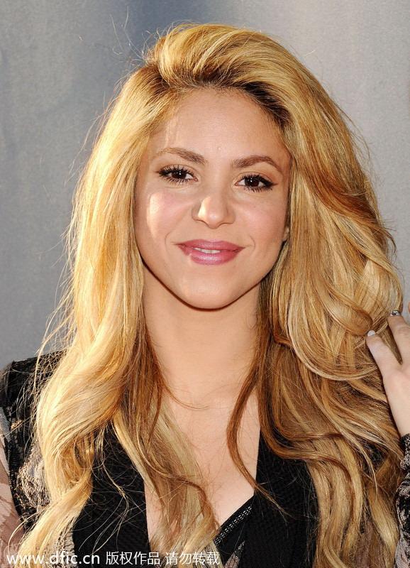 Las famosas novias del... Shakira