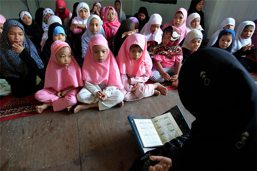 Los adolescentes musulmanes del mundo maduran
