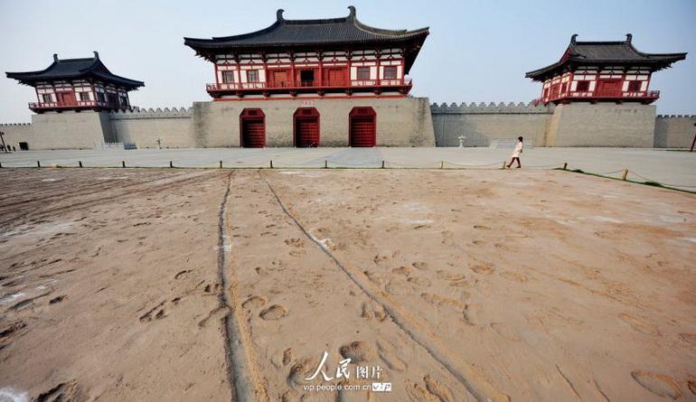 22 sitios arqueológicos a lo largo de la Ruta de la Seda en China