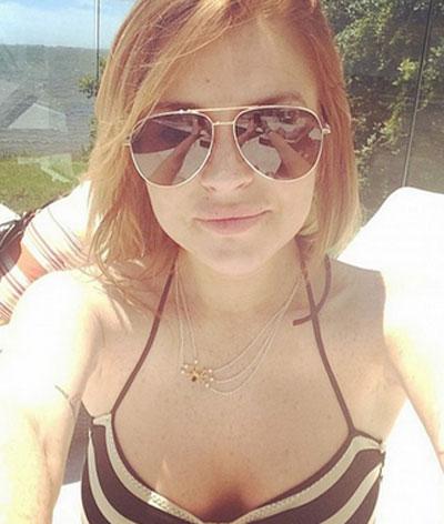 Lindsay Lohan se desnuda en Instagram_Spanish.china.org.cn_中国最 ... Lindsay Lohan
