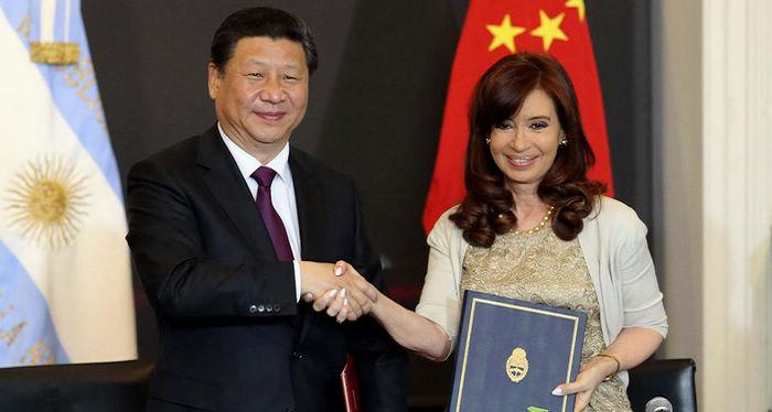 China y Argentina elevan lazos bilaterales