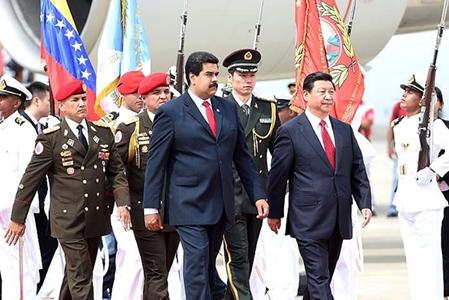 Presidente chino llega a Venezuela para realizar visita de Estado
