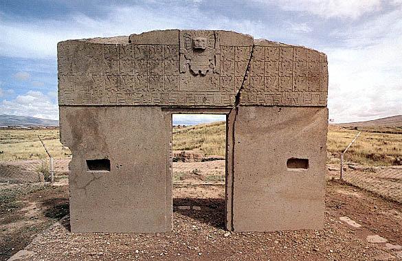 Ruinas de Tiahuanaco, Bolivia