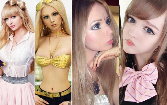 Las Barbies en la vida real