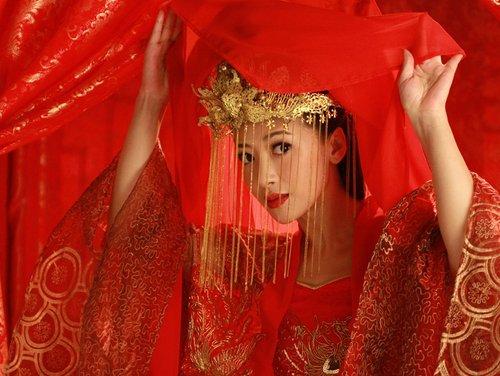 ¿Cómo es una boda tradicional china?