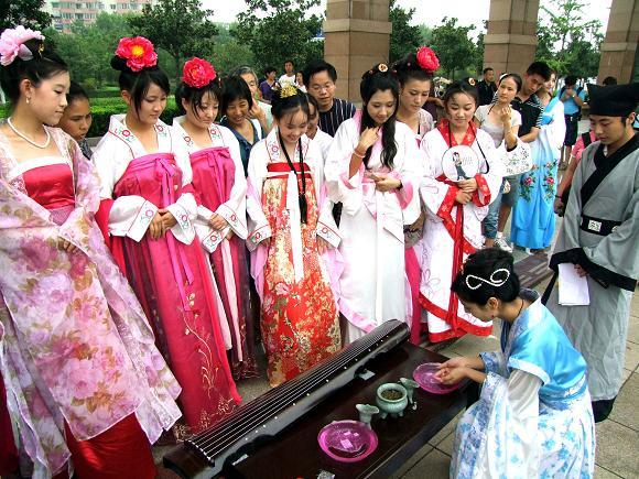 El Festival Qi Xi en Japón y Corea