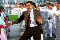 Mr. Bean baila en Shanghái