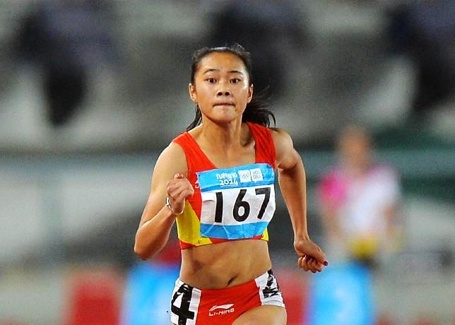 NANJING: Liang de China logra victoria en 100 metros femenil