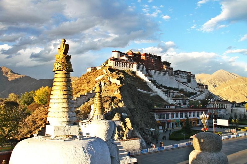 Enciclopedia de la cultura china: El Palacio Potala en el Tíbet