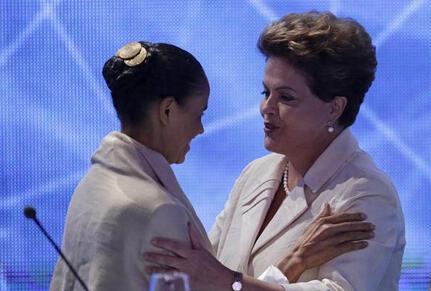 Empate técnico entre Silva y Rousseff en elecciones brasileñas