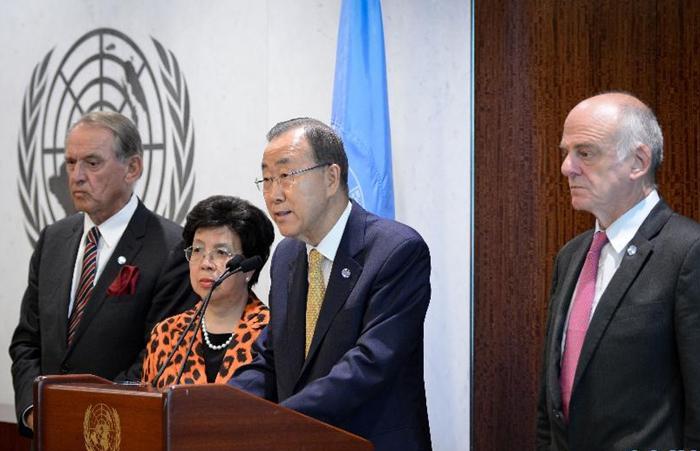 ONU establecerá centro de crisis de ébola para contener propagación