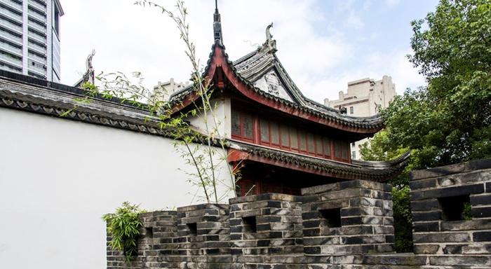 La antigua ciudad de Shanghái se transforma
