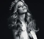 La supermodelo holandesa Valerie van der Graaf derrocha sensualidad en lencería