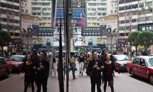Comerciantes hongkoneses experimentan caída en las ventas