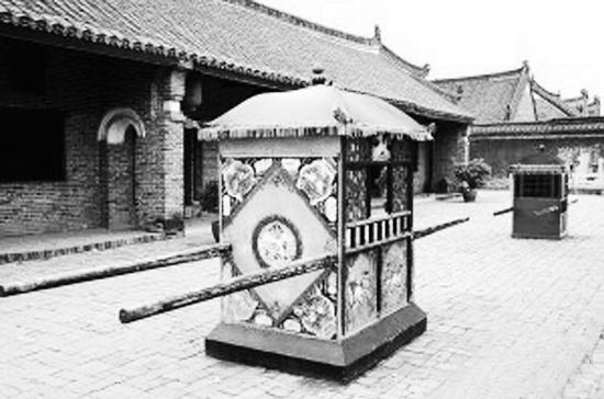 Enciclopedia de la cultura china:Origen del palanquín 轿子的起源1