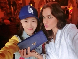 Joven china revela fotos privadas con Irina Shayk