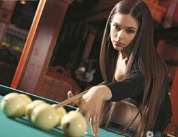 Anastasia Luppova : Miss billar