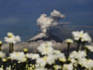 Diez fotos más espectaculares de la vista hermosa del Volcán Popocatépetl de México