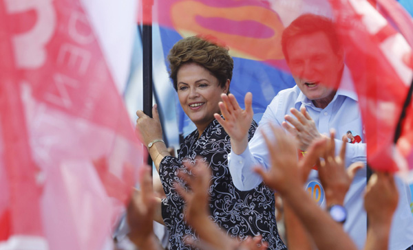 Encuestas revelan que Rousseff gana un impulso