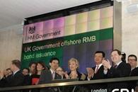 Reino Unido emite primeros bonos en RMB