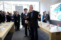 CEO de Apple, Tim Cook se reunirá con empleados en Beijing