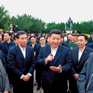 Xi Jinping en Shenzhen en 2012
