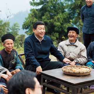 Xi Jinping en la provincia de Hunan en 2013