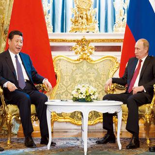 Xi Jinping se reúne con Vladimir Putin en 2013
