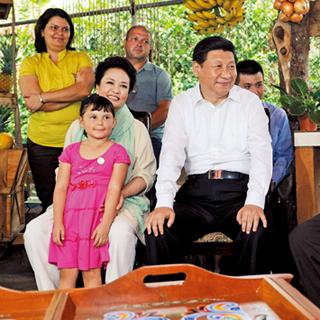 Xi Jinping visita Costa Rica en 2013