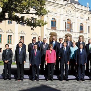 Xi Jinping en San Petersburgo en 2013