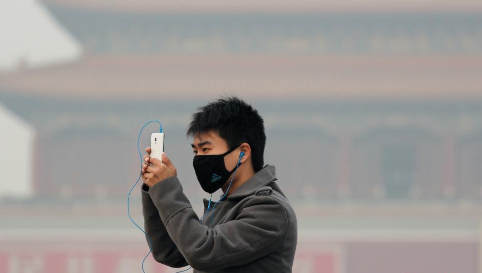 """Se termina el """"azul APEC"""", vuelve la contaminación a Beijing"""