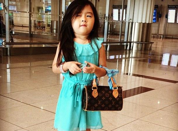 Lolita coreana de 5 años, la nueva reina en Instagram