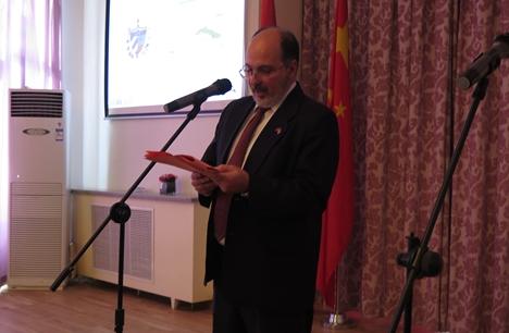 Optimismo por el desarrollo chino: embajador de Cuba, Alberto Blanco