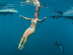 Buceo libre: sumegirse unos 100 metros usando el peso propio
