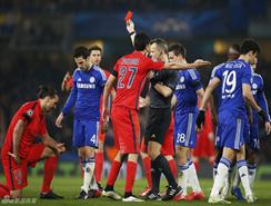 El Chelsea, apeado de la Champions