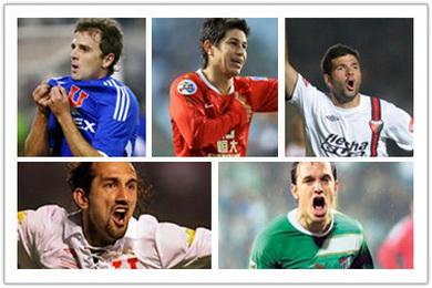 Los cinco jugadores argentinos en China