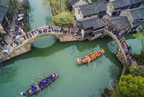 Zhejiang: Feria 'Xiangshi' en Wuzhen