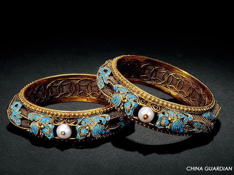 Los más exquisitos ejemplos de la orfebrería Qing y Ming