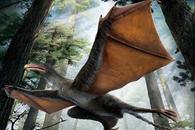descubren fósiles de dinosaurio con alas de murciélago en China
