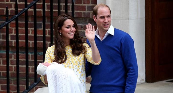 Duquesa de Cambridge da a luz a niña