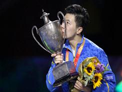 Ma Long de China gana el compeonato mundial de tenis de mesa