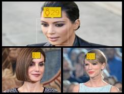 La edad de los famosos, según la aplicación 'How old do I look'