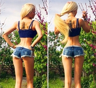 Nuevas fotos sensuales de la barbie humana Valeria Lukyanova